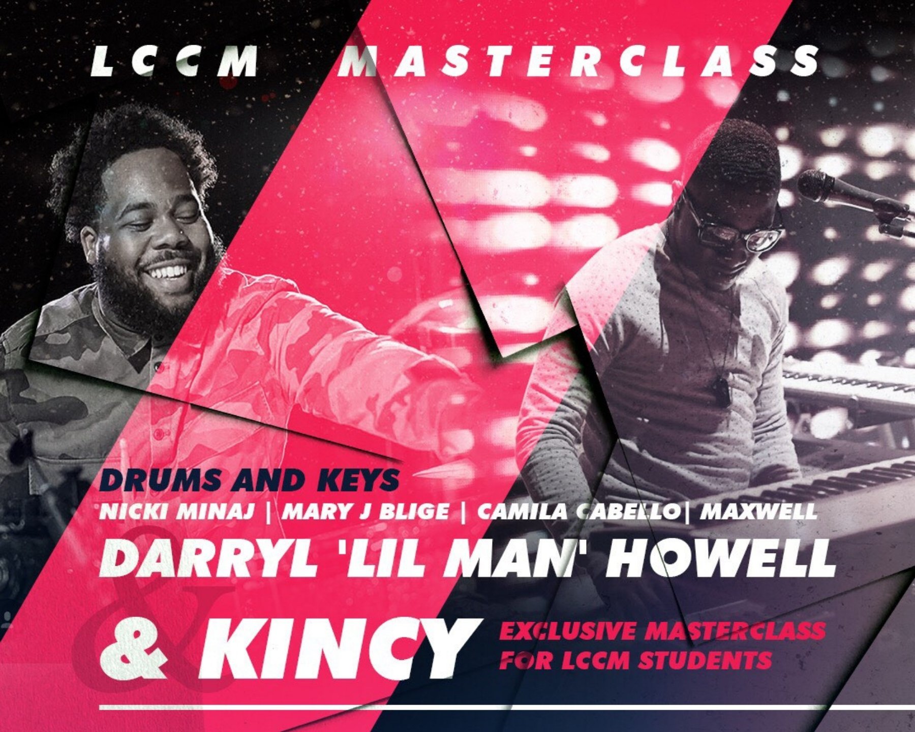 Darryl Howell and Marcus Kincy Masterclass