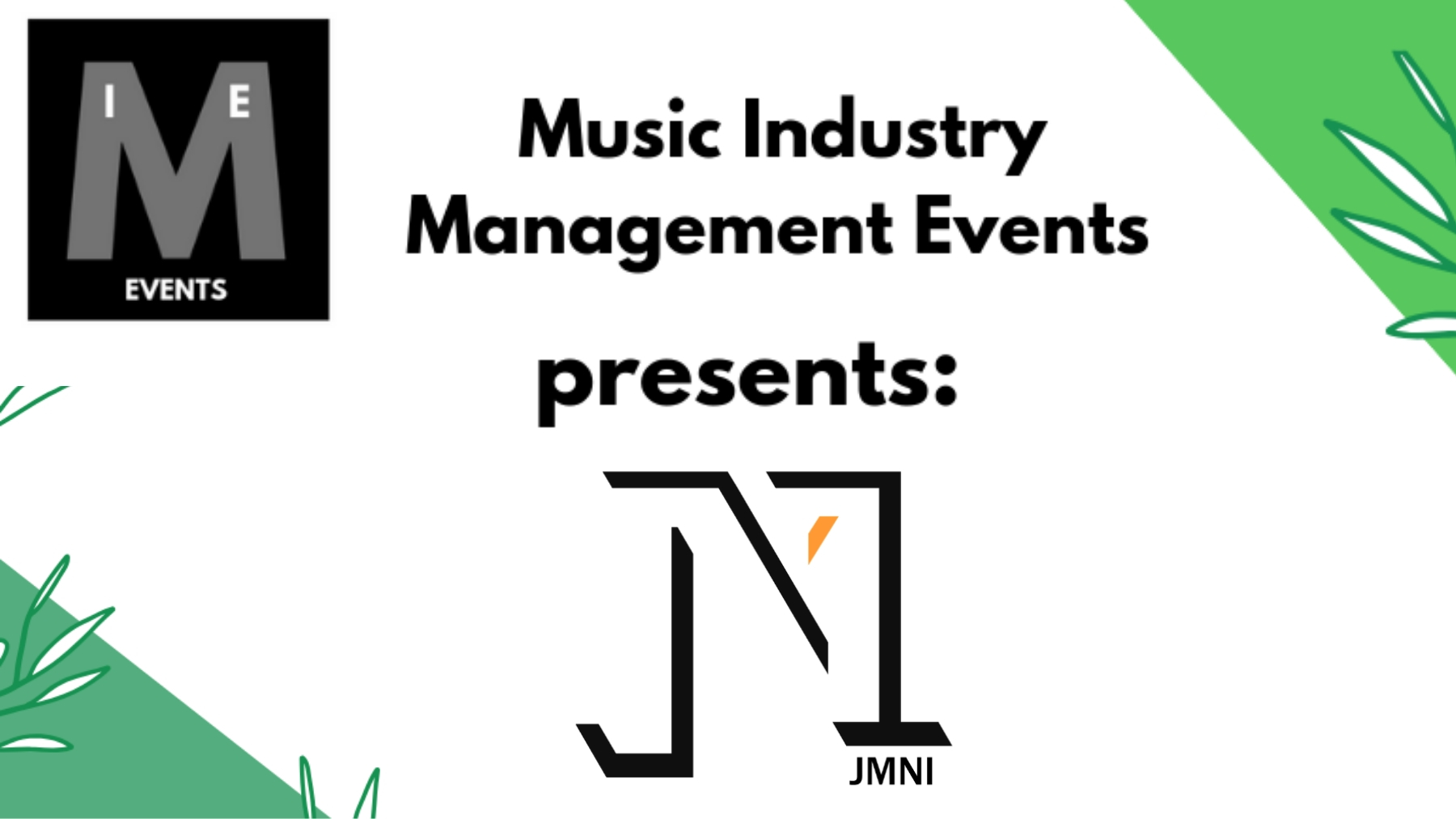 Music Industry Management Gig