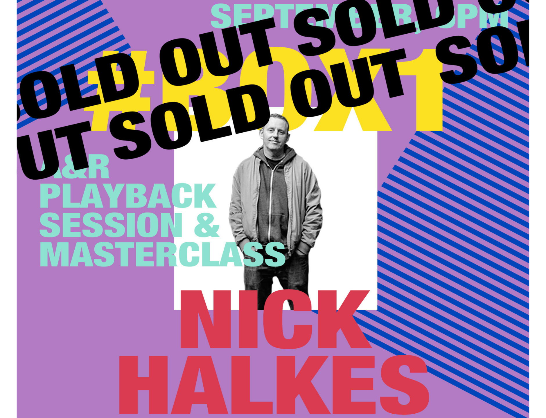 BOX TALKS #1 – Nick Halkes, Manager of The Prodigy, comes to LCCM