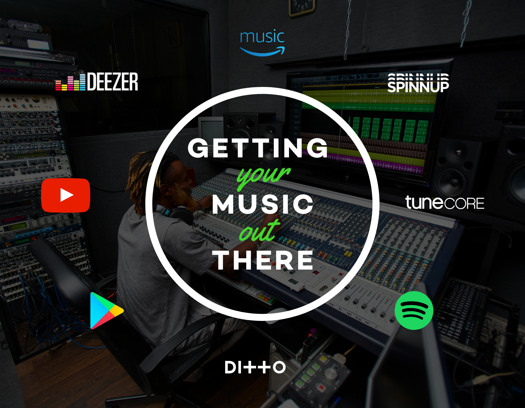 Getting your music out there: Distribution and label services