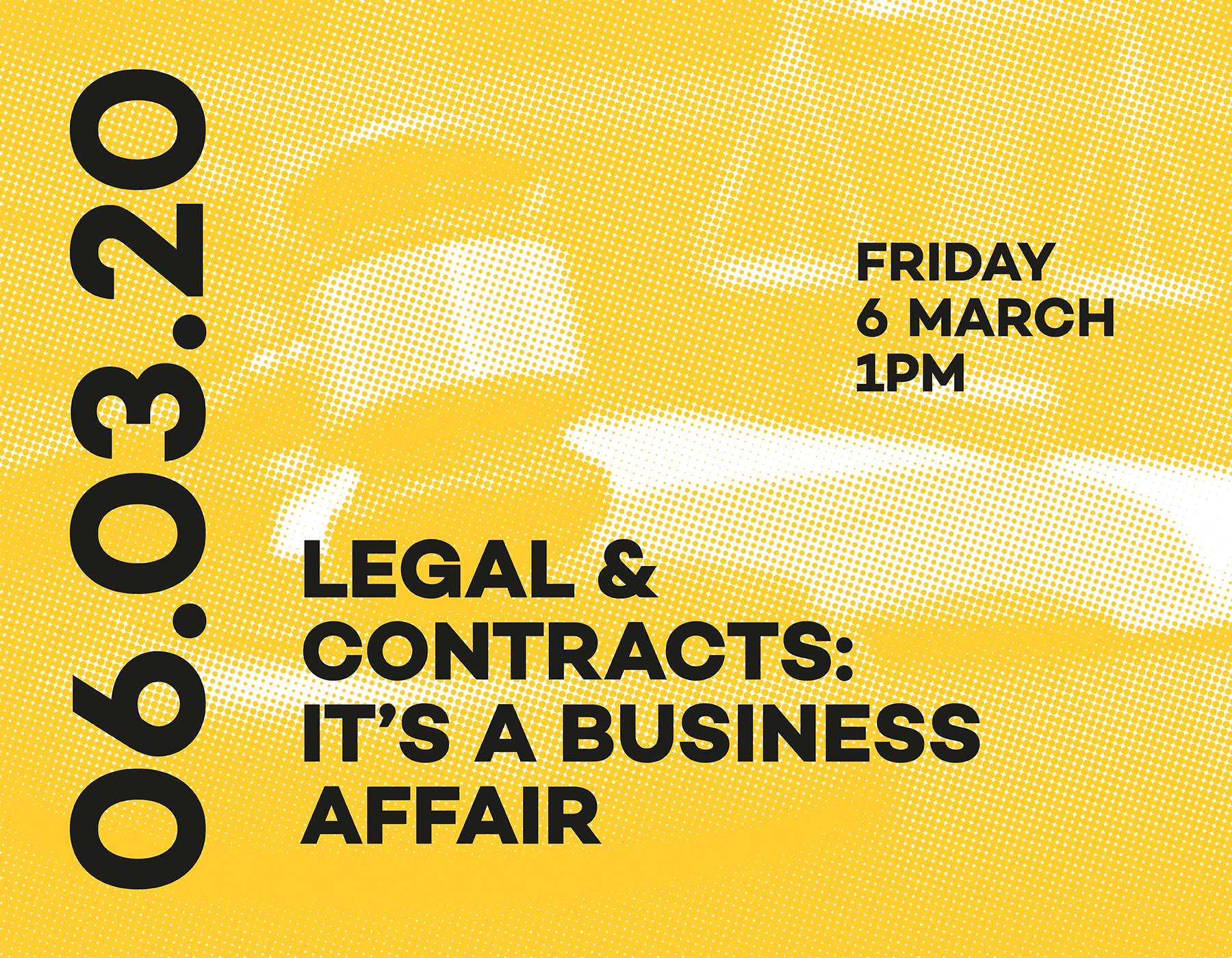 Legal & Contracts: It's a business affair