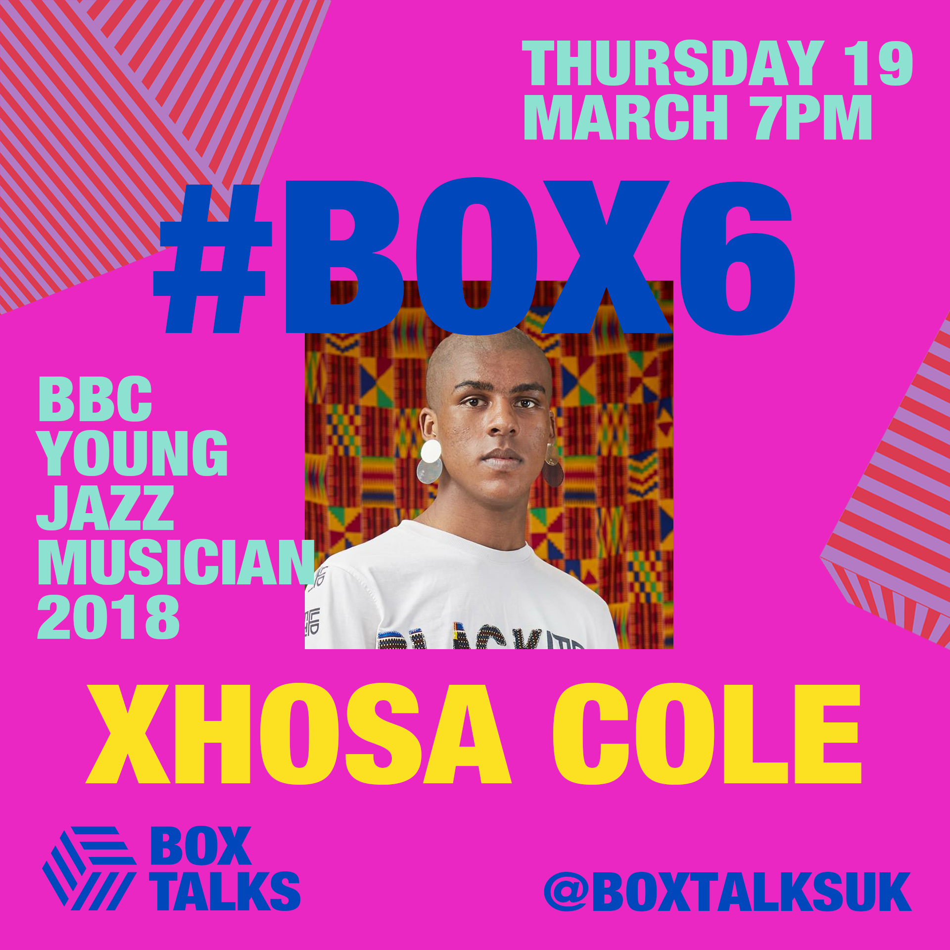 BOX TALKS #6 - Xhosa Cole: BBC Young Jazz Musician of the Year 2018