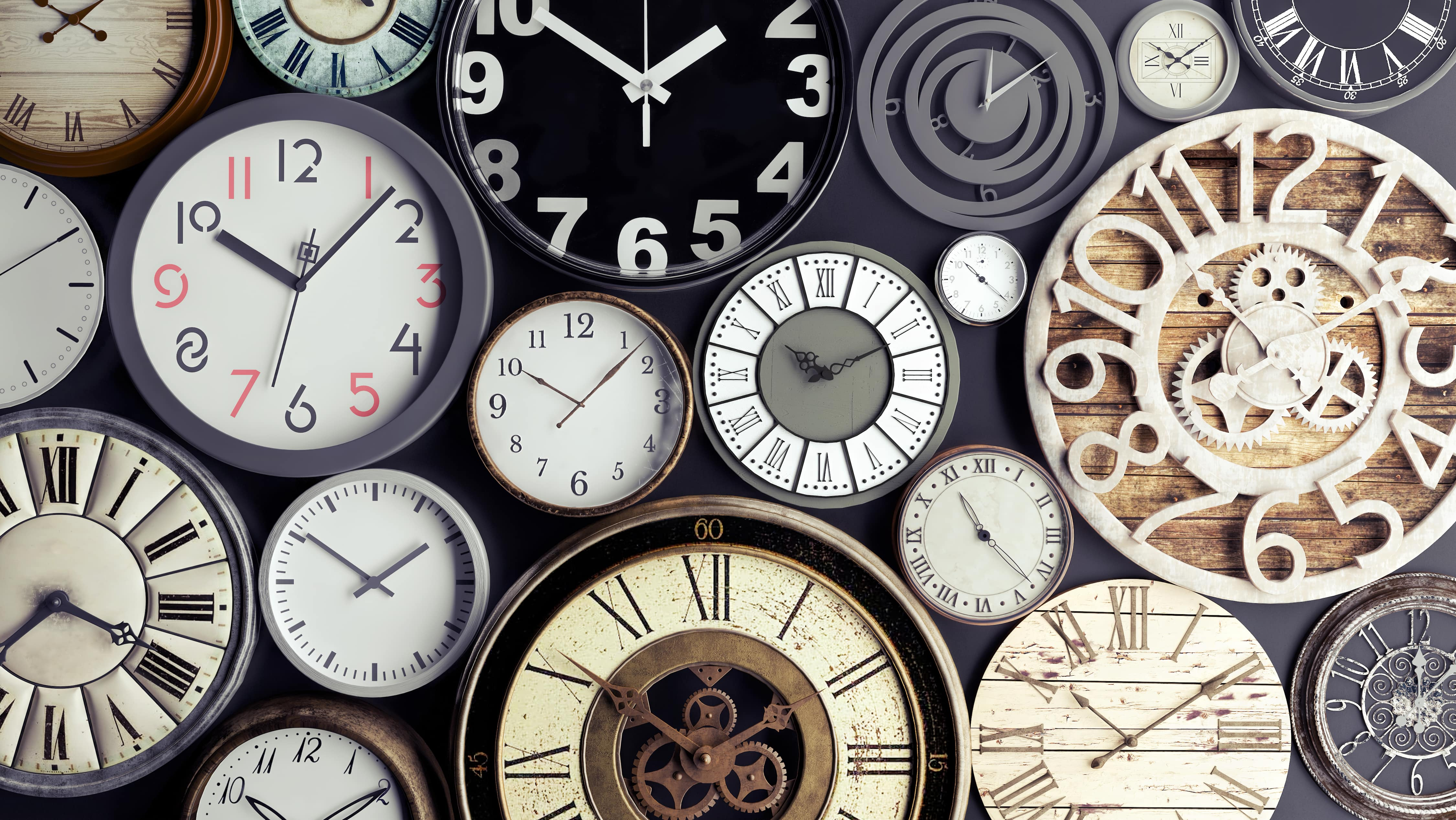 Self-organisation: How to stop all your time from ticking away