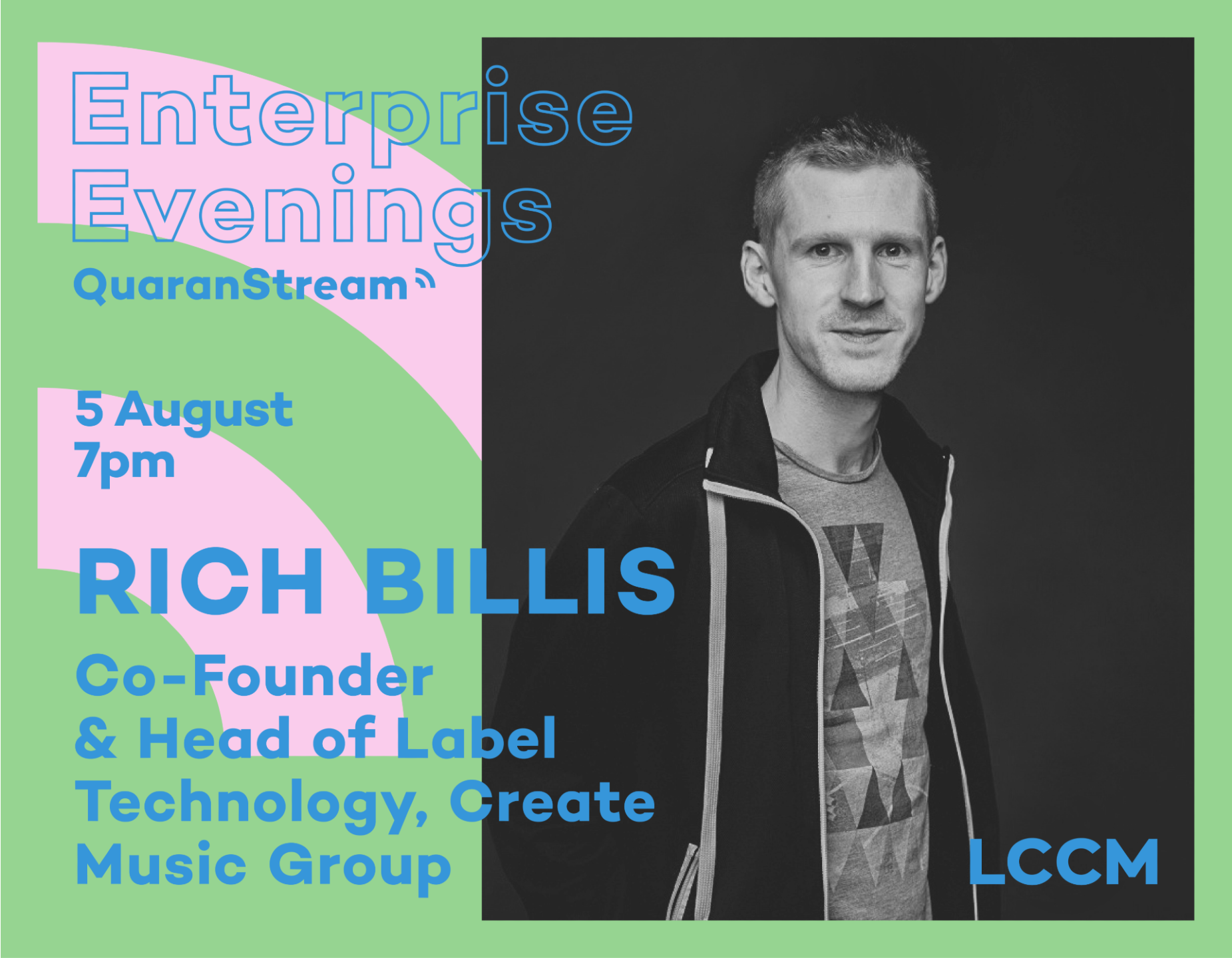 LCCM Enterprise Evenings: Rich Billis