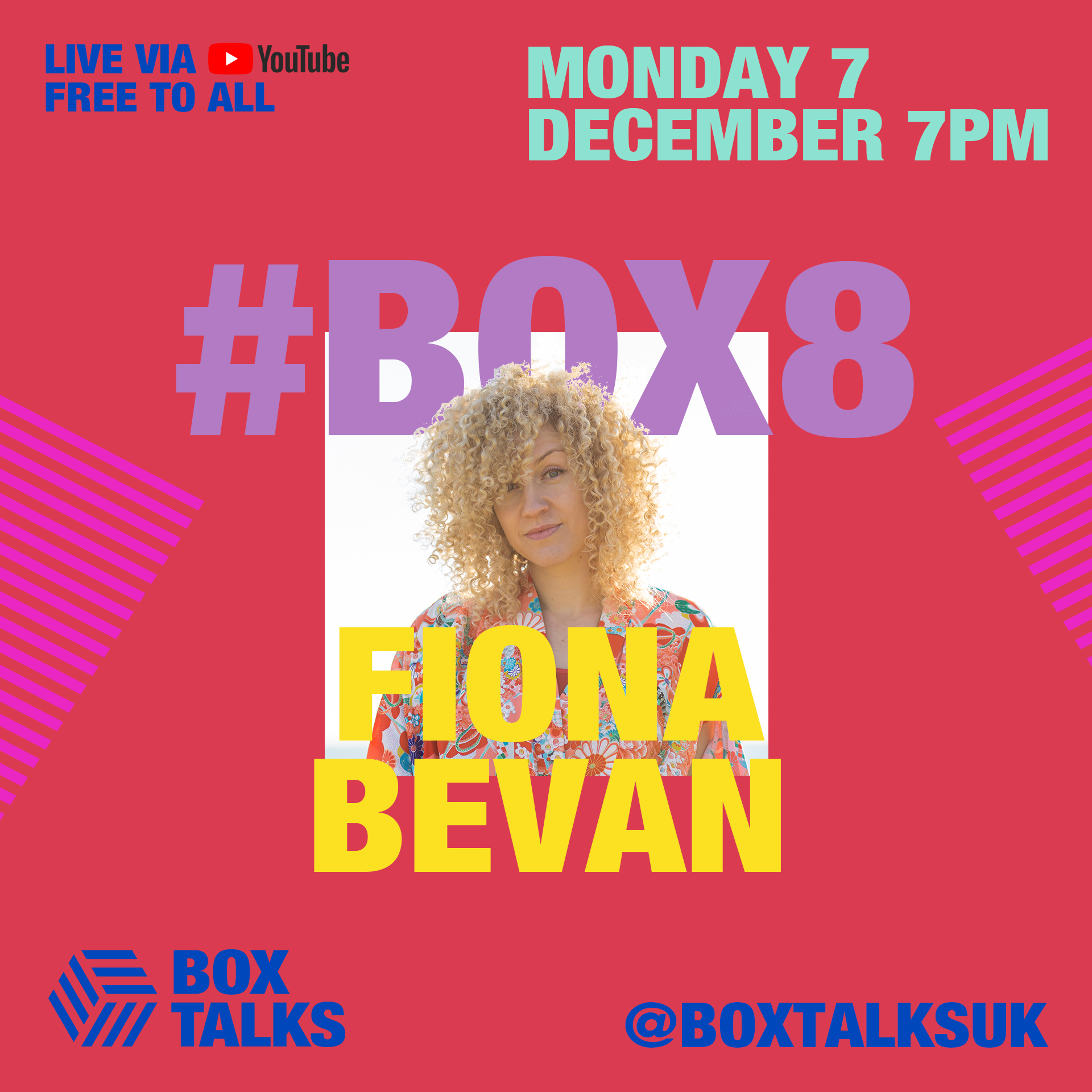 BOX TALKS #8 - Fiona Bevan, multi-platinum selling songwriter for One Direction, Shawn Mendes and others