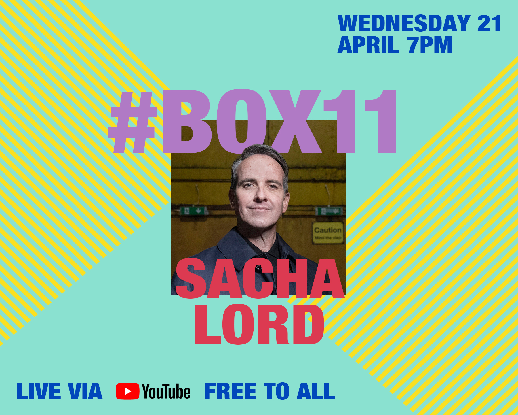 #BOX11: Sacha Lord, Co-founder of Warehouse Project, Parklife Festival, and current Nightime Economy adviser for Greater Manchester